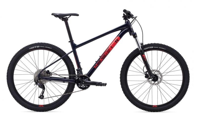 """Велосипед 29"""" Marin BOBCAT TRAIL 4 чорний-червоний"""