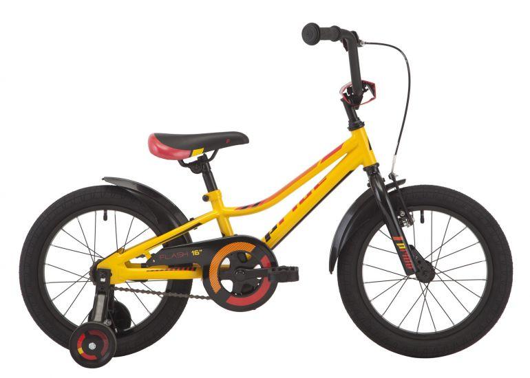 Велосипед Pride Flash Yellow 16