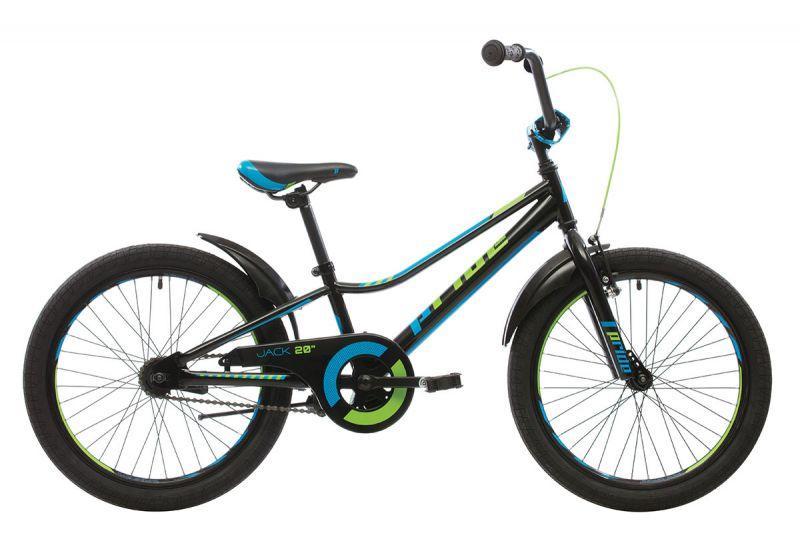 Велосипед Pride Jack 20 Black Blue